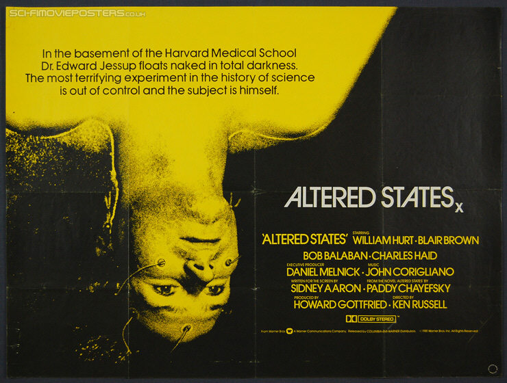 Vagebond's Movie ScreenShots: Altered States (1980)