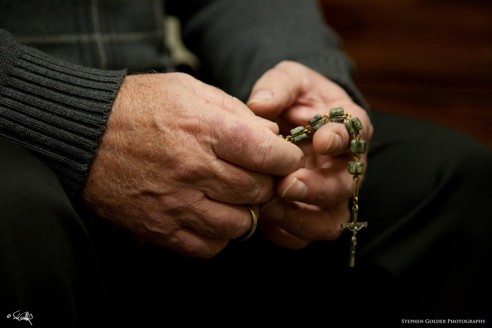 These Hands Bring Me Jesus: Penal Rosary