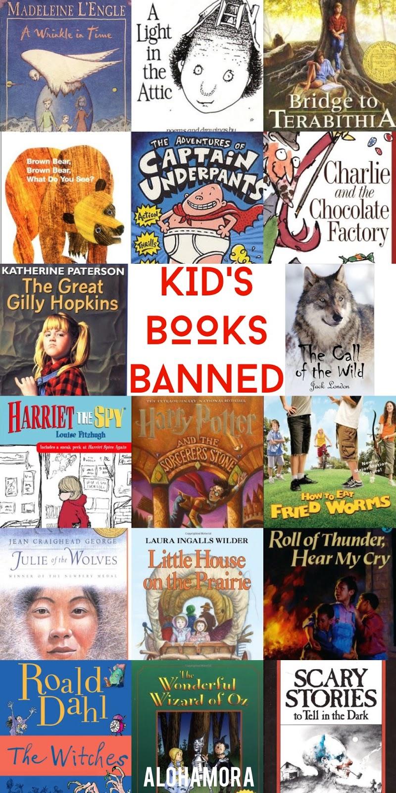 Alohamora: Open a Book: Even Children's Books are Banned ...