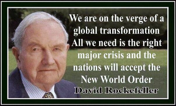 A Sheep No More : Rockefeller - New World Order Quotes